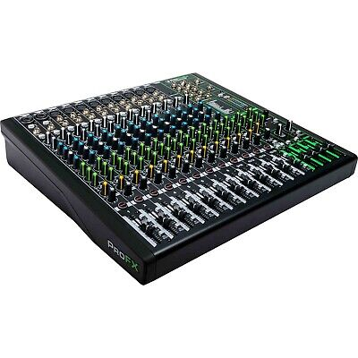 Mackie ProFX16v3 16 Channel 4-Bus Professional Audio Live Mixer w Effects & USB