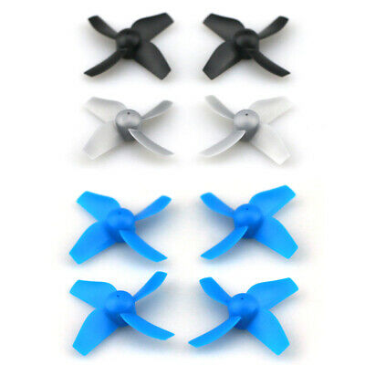 4x RC Spare Parts Propellers for Tiny Whoop JJRC H36 Eachine E010 Inductrix BLUE