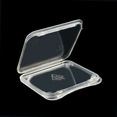 Sale 10x, SD Card Case Plastic Transparent Ultra-thin