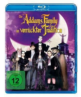 THE ADDAMS FAMILY VALUES - Blu Ray Region B ( UK ) - Christopher Lloyd