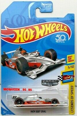 2018 Hot Wheels Zamac Legends Of Speed Indy 500 Oval Walmart Exclusive