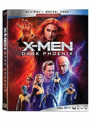 X-Men: Dark Phoenix  (Blu Ray*) 2019 w/ SLIP COVER **FREE SHIPPING* **PLS READ**