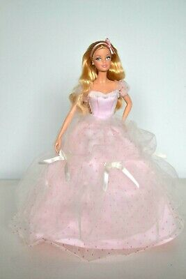 Birthday Wishes Barbie Doll, First Collectors Edition & Certificate,Gift wrapped
