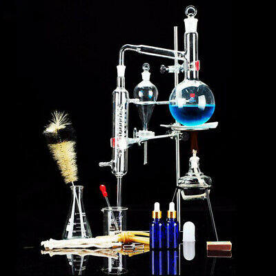 Distiller Glass Distilled Water Device Chemical Teaching Instrument Laboratory