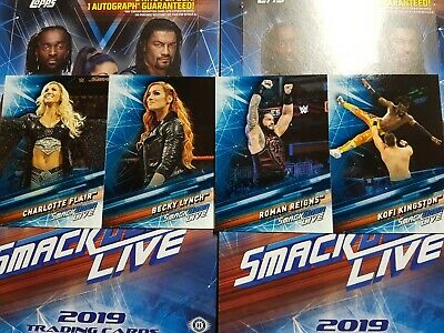 2019 Topps WWE SmackDown (1-90) COMPLETE YOUR SET - YOU PICK FROM LIST