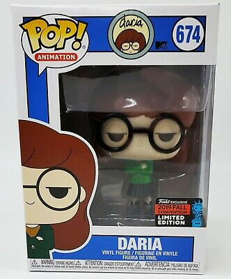 Funko Pop Television MTV's DARIA Shared NYCC 2019 Exclusive BRAND NEW *MINT*