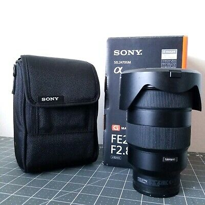 Sony FE 24-70 mm f/2.8 GM Standard Zoom Lens – Black - SEL2470GM