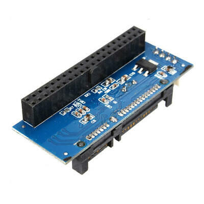 """1Pc 40-Pin Female SATA IDE to 7+15Pin 22-Pin Male Adapter PATA Card for 3.5"""""""