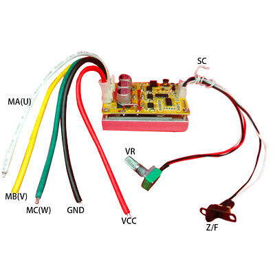 E-bike For BLDC Bicycle Speed Electric E-scooter Motor Controller Driver Board