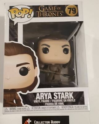 Funko Pop! Game of Thrones 79 Arya Stark with Spear Pop Vinyl Figure FU44819
