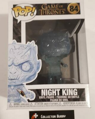 Funko Pop! Game of Thrones 84 Night King with Dagger Pop Vinyl Figure FU44823