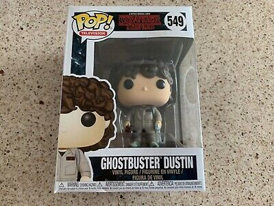 Stranger Things Dustin Ghostbuster Funko Pop
