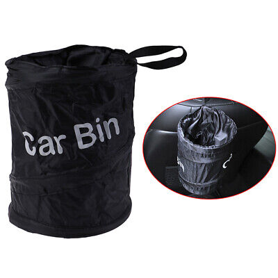 Car Trash Can Portable Garbage Bin Collapsible Waterproof Bag Rubbish BinL CH~。