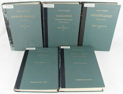 Fauna Japonica Insecta: Coleoptera Beetles Insects Volumes *YOU PICK* Taxonomy