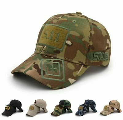 Mens Army camouflage baseball cap 511 tactical caps outdoor sport snapback Hat