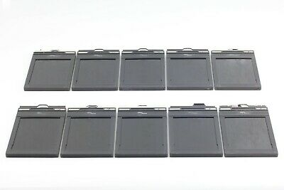 [ Lot of 10 Near Mint ] Fidelity Elite 4x5 inch Cut Film Holders from JAPAN