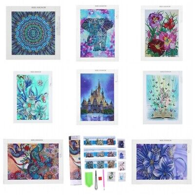 5D Diamond Painting Embroidery Cross Craft Stitch Pictures Arts Mural Decor Kit