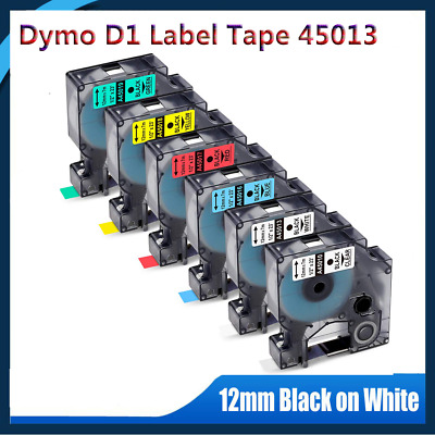 45010 45013 S0720530 Label Tape Compatible for LabelManager 160 12mm  8m