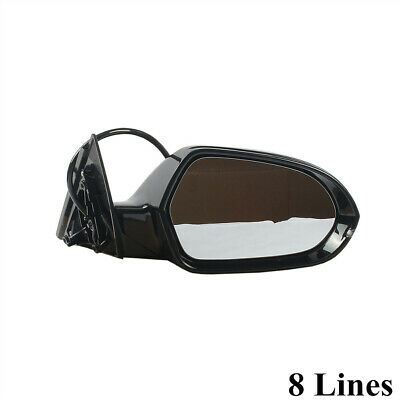 Left Side Power Heated Adjustment w//Fold Mirror Assembly For AUDI A3 S3 15-18 8V