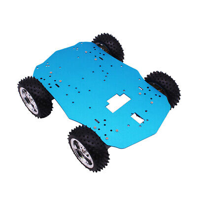 1Pcs 4WD Chassis Kit Intelligent Robot Car DIY Chassis Frame Unassembled New