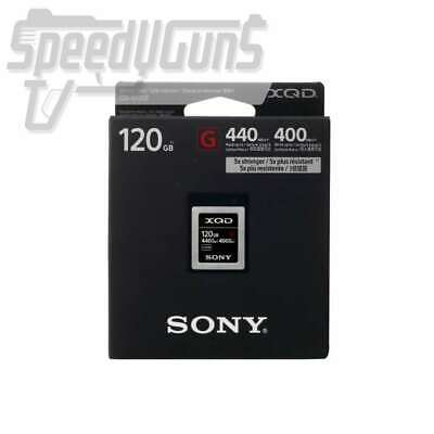 NEW Sony 120GB XQD G Series Memory Card (QD-G120F)