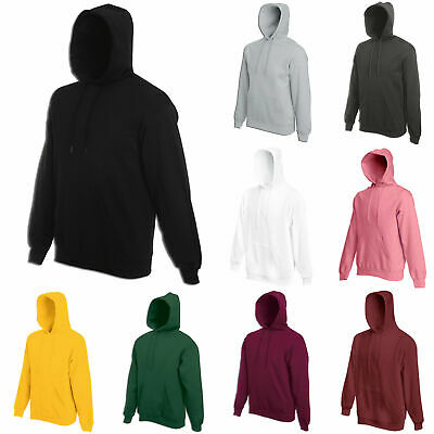 Men Women Sweatshirt Hoodie Pullover Hoody Cotton Plain Sweater Jumper Casual
