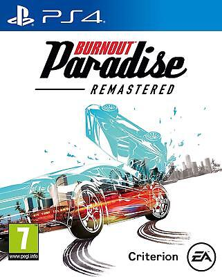 Burnout Paradise Remastered HD PS4 PlayStation 4 Brand New Sealed Free Delivery