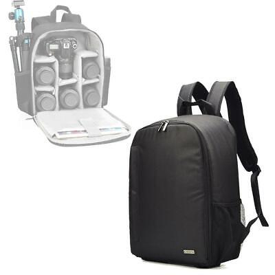 Professional Camera Backpack Bag Case Waterproof with Inserts Modular For D F8T3