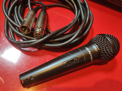 Peavey Pvi 100 Dynamic Vocal Cardiod Microphone with Mic Stand