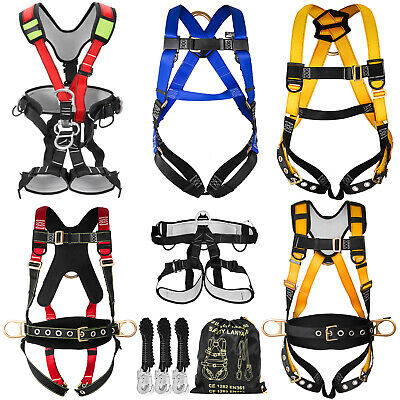 Fall Protection Construction Harness & Shock Absorbing Light Weight Roofers