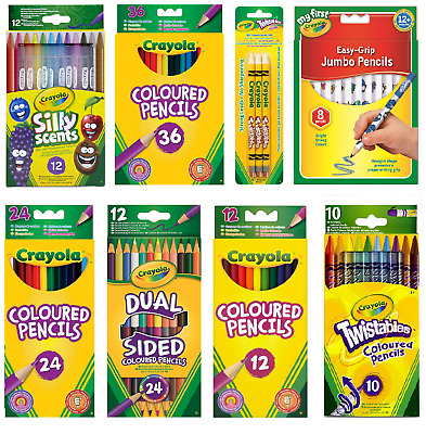 Crayola Kids Coloured Pencils - FAST & FREE DELIVERY