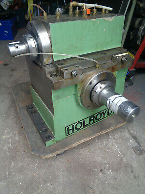 Holroyd worm drive gearbox test chamber 40mm & 80mm shafts LOTGBT84623
