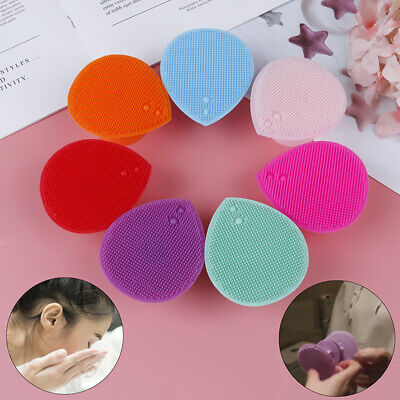 Silicone Wash Pad Face Exfoliating Blackhead Facial Cleansing Brush T ~X