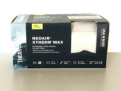 NEW 2019 ThermaRest NeoAir XTherm MAX Ultralight Compact Sleeping Pad Mattress