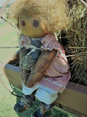 Primitive Pumpkin big Ooak doll