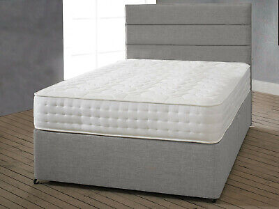 Luxury Spring Mattress, Memory Foam / Cool Blue Mattresses YOU CHOOSE +ALL SIZES