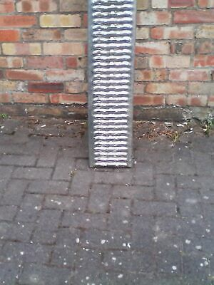 MOTORCYCLE LOADING RAMP GOOD  1.9 mt long  x 22cm wide ALTERED TO FIT  TRAILER