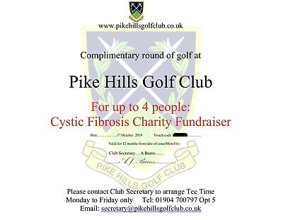 Golf Voucher For 4 People At Pike Hills Golf Club (Golf Gift)