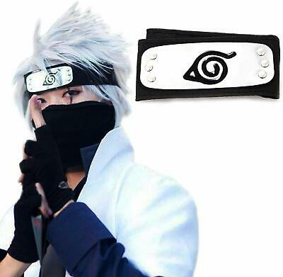 Atenia Naruto Cosplay Headband, Naruto Costume Leaf Village Ninja Headband