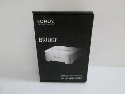 Sonos Bridge Wireless Extender Ethernet Switch - Factory Sealed!! New in Box -