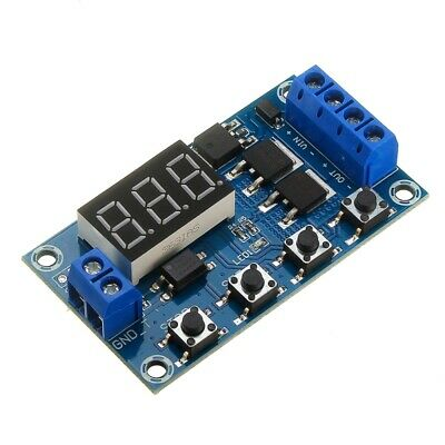 XY-J04 Trigger Cycle Time Delay Switch Circuit  Double MOS Tube Control Board Re