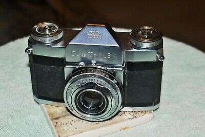 VINTAGE 1950s ZEISS IKON CONTAFLEX 35mm SLR CAMERA, WORKING ORDER