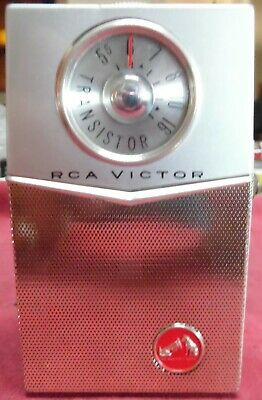 Vintage 1960 RCA  Model #3RH21G Transistor Radio AM, CD, VGC