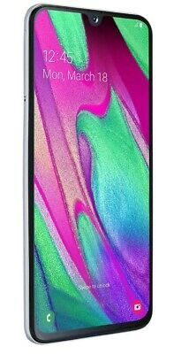 New Samsung Galaxy A40 (2019) 64GB Dual SIM 4G LTE Android Smartphone White