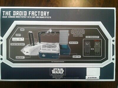 Disney Star Wars Galaxys Edge Color Changing Droid Depot Factory DONK DROID