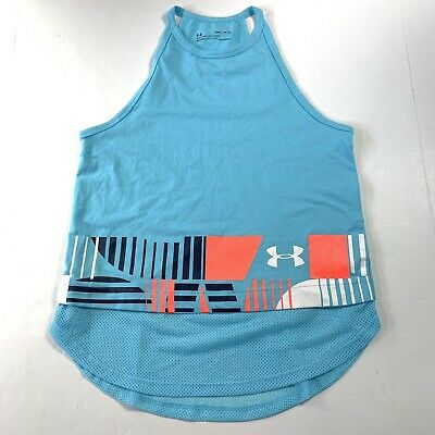 Under Armour Youth Girls Tank Top Shirt Size Medium
