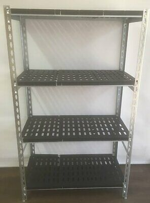 Coolroom Coldroom Shelving Zinc Plated Post ABS Real Tuff Shelves 2200H x 300W