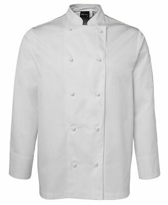 JBs White L/S Unisex Chefs Jacket; various sizes