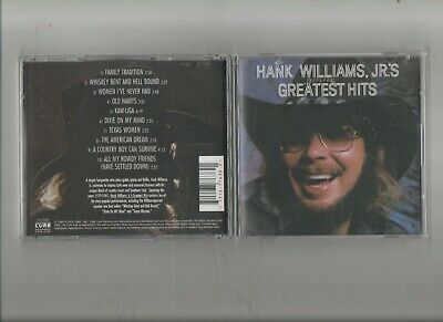"Hank Williams Jr's ""Greatest Hits"" Cd"