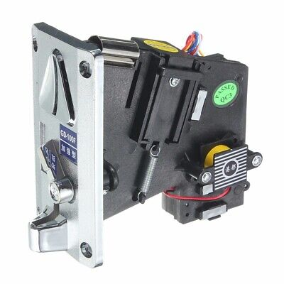 Plastic Electronic Advanced Front Entry CPU Multi Coin Acceptors Comparison Coin